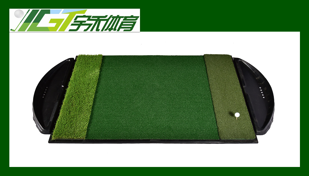 YGT-A185 golf mat with rubber b