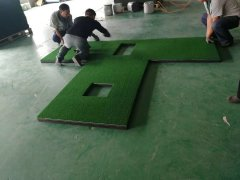 new golf mats for simulator