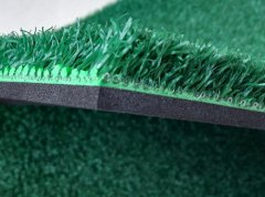 knitted nylon turf with 4mm foam rubber