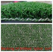 nylon knitted turf -the most anti-striking artificial grass in the market